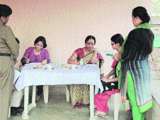 OCHRI holds health check-up camp for CISF personnel