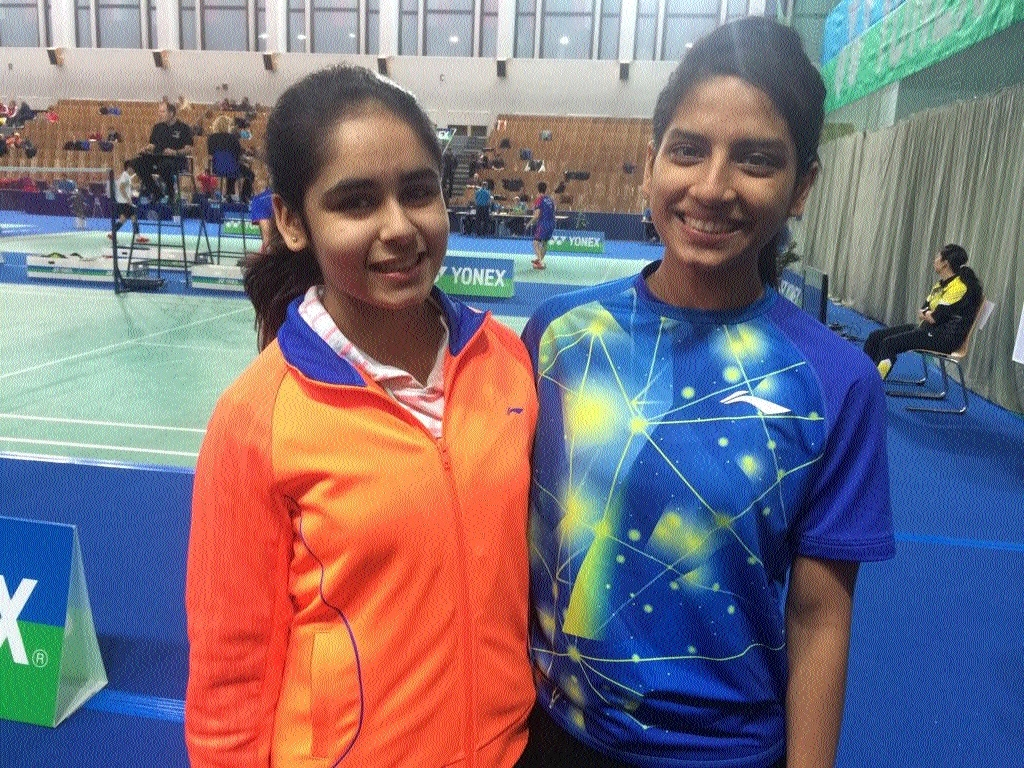 City shuttler Ritika Thaker appears for Standard X paper in Berlin