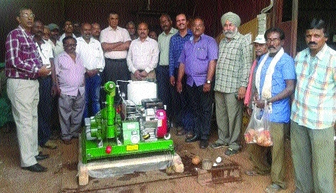 Fogging machine dedicated to BSP township