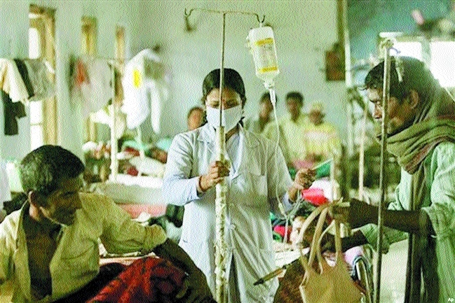 No increment for contractual health workers scoring less than 65 marks
