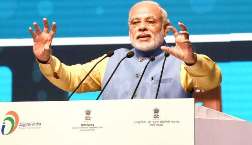 Modi urges consumers to embrace digital transactions