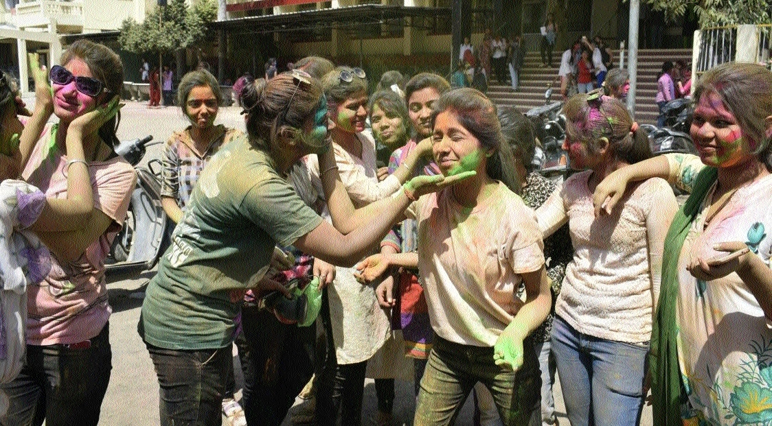 Sanskardhani celebrates festival of colours with traditional zeal