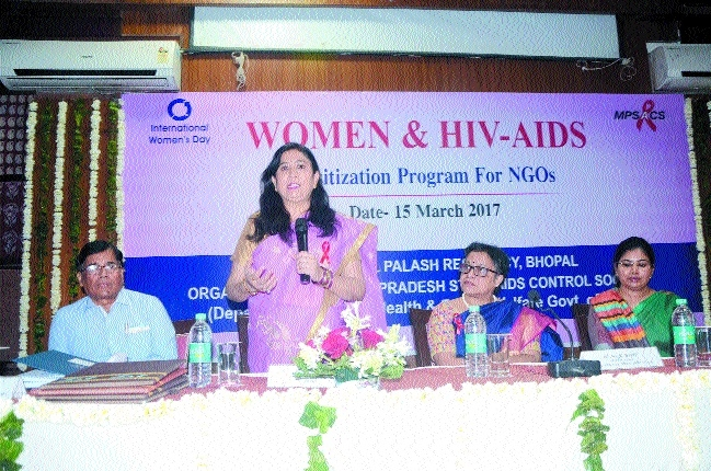 Workshop on AIDS awareness held at Hotel Palash Residency