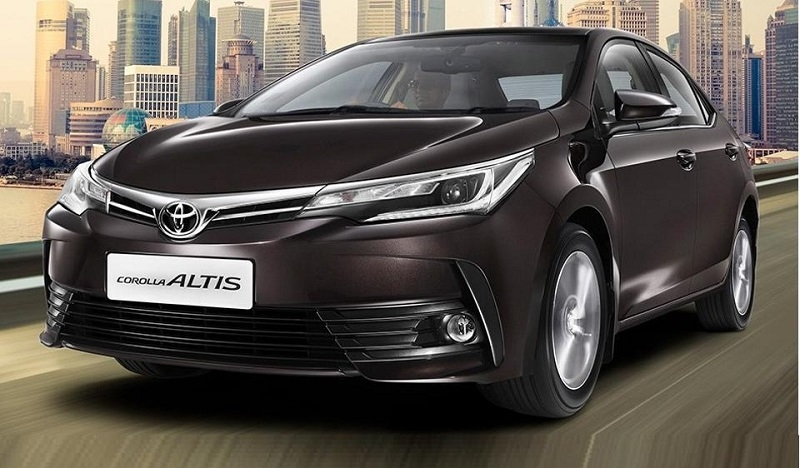 Toyota launches new Corolla Altis