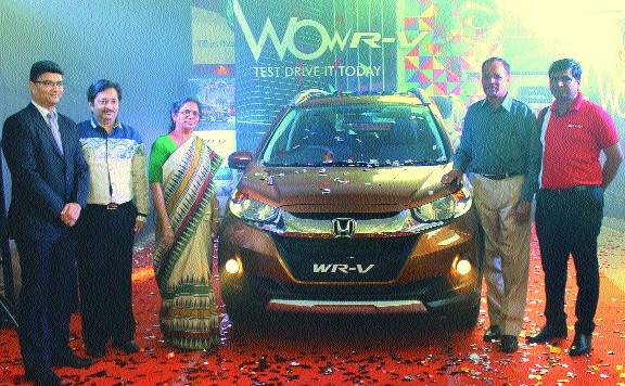 WR-V launched at Rushabh Honda, Emperor Honda