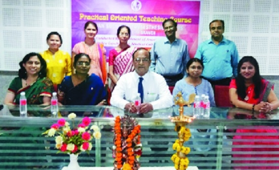 ISA conducts practical-oriented training