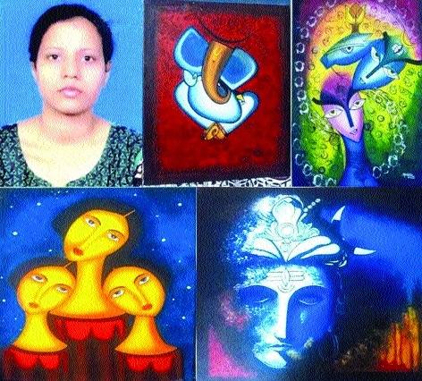 Abhilasha Singh to exhibit her paintings at Nehru Art Gallery