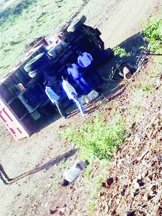 Speeding dumper mows down man