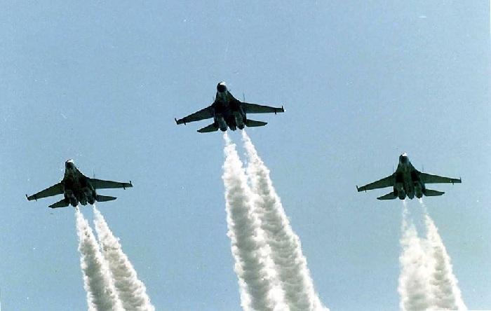 Sukhoi combat aircraft