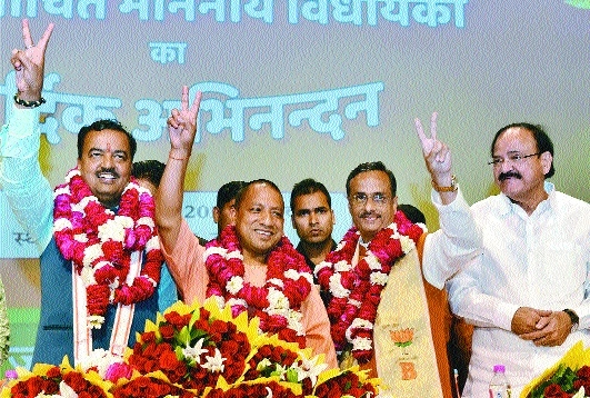 Yogi Adityanath to be UP Chief Minister