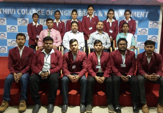 Parthivi students to brainstorm at Smart India Hackathon 2017