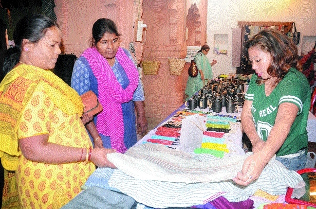 Aadishilp Mela starts at Gauhar Mahal