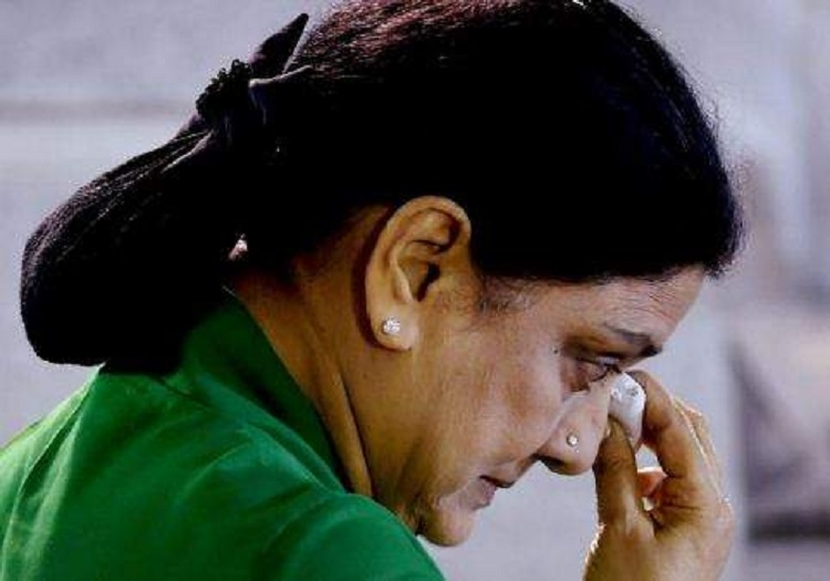No AC, mattress for Sasikala in prison