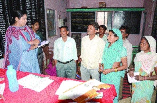Surprise visit to Gram Panchayats