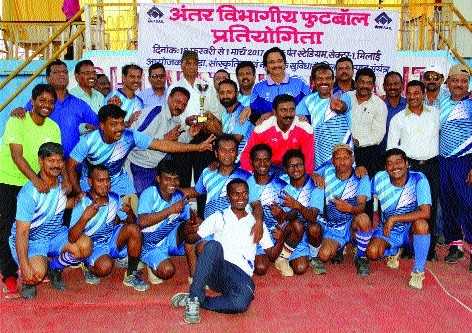 Mills and Quality team wins Inter-Department football tourney