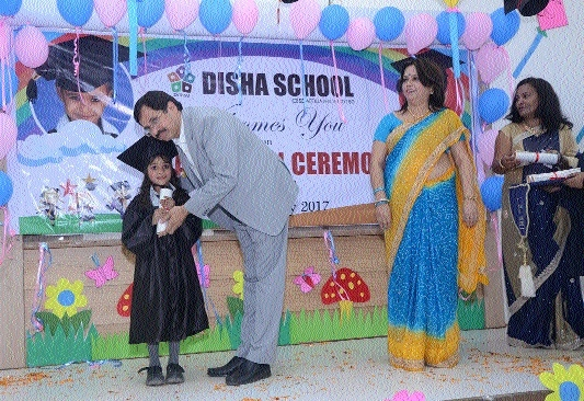 Disha School's Pre-primary wing organises Graduation Ceremony