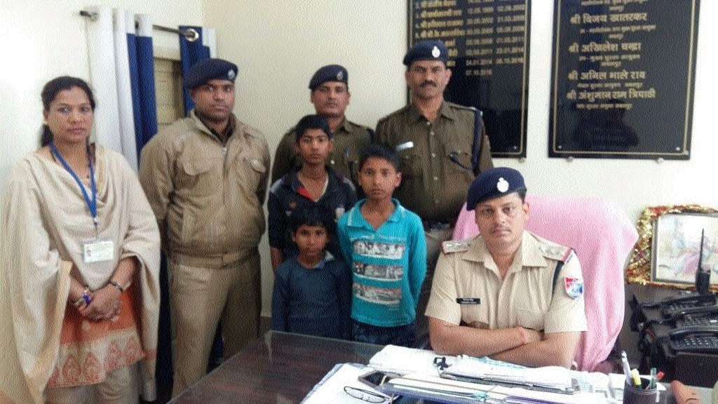 Alert RPF cops rescue 3 minor children fleeing to Mumbai