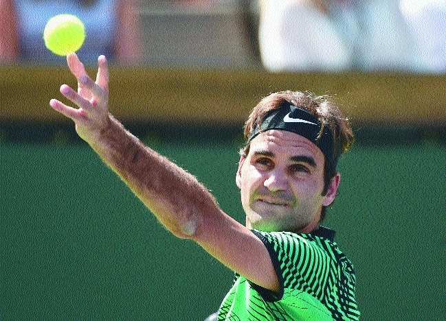 Federer aims at fifth title
