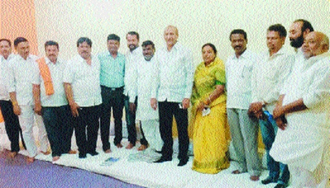 Cong, NCP, SS join hands