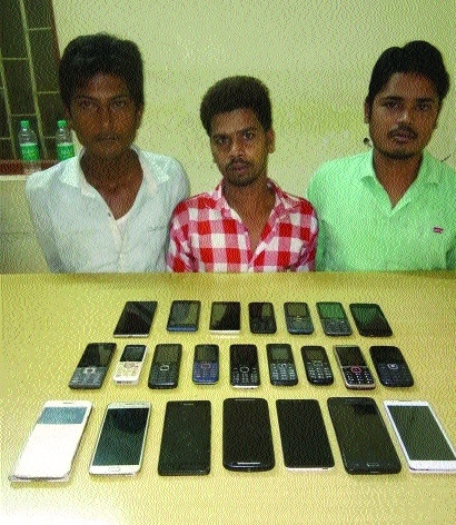 Crime Branch sleuths bust gang of mobile phone thieves