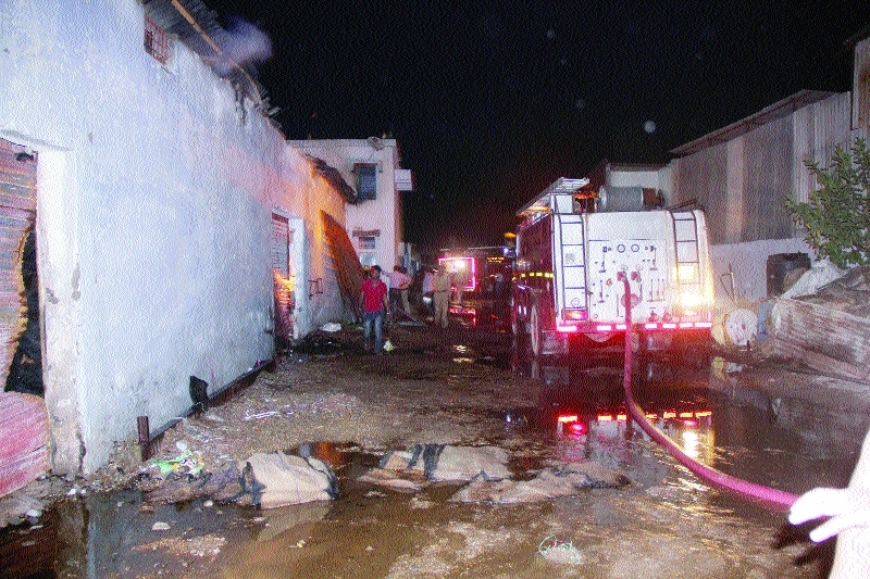 Devastating fire at jute sack factory, stock worth lakhs gutted