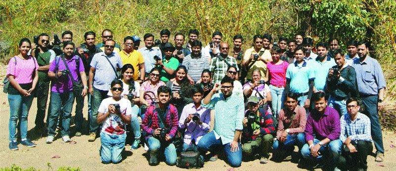 Altaf H Vali, Sony India conduct DSLR workshop at Pench Tiger Reserve