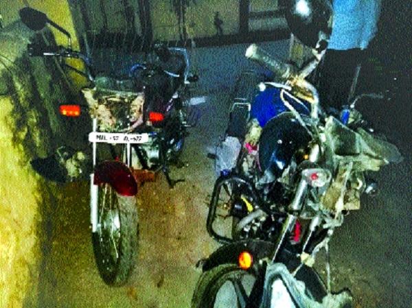 Ashramshala Principal killed, 2 others injured as 2 bikes crash