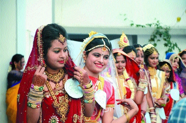 Bridal show organised on second day of annual function at Anand Vihar College