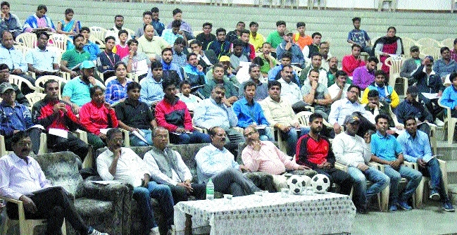 Mega seminar for preparation of 'MXIM', FIFA U-17 World Cup Football held