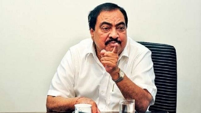 Khadse seeks clarification over title of Pune plot