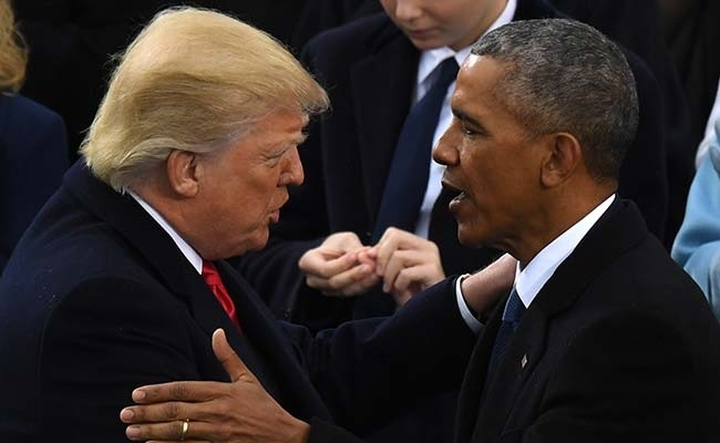 Trump accuses Obama of tapping his phone before elections