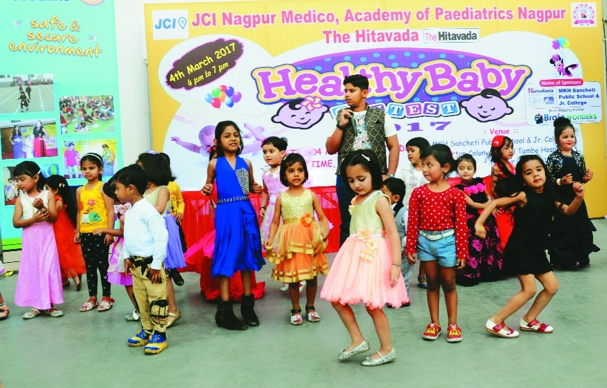 JCI Nagpur Medico holds Healthy Baby contest with IAP and The Hitavada