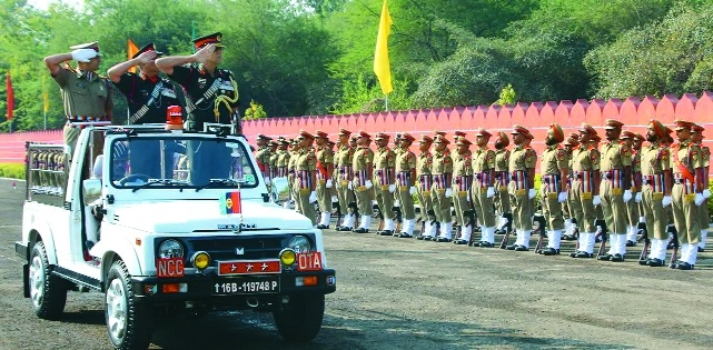 Diamond jubilee passing out parade held at NCC OTA