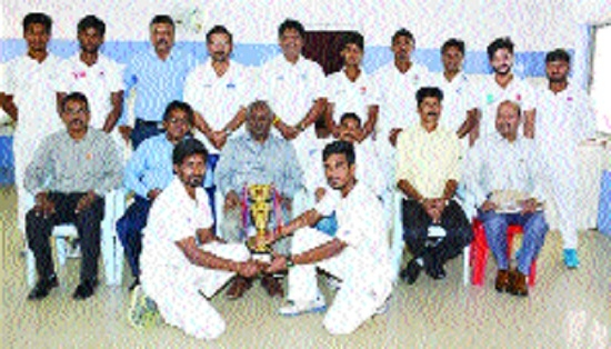 BSP Cricket team emerge champs