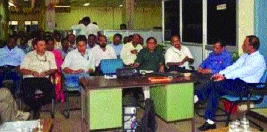 Workshop on 'Safety Awareness', held at Disposal Stores