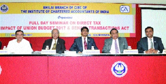 Day-long seminar on Direct Tax organised