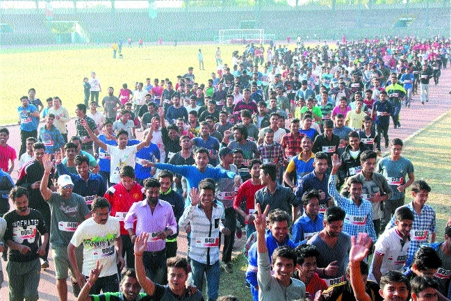 Samanata-2 Mini Marathon race held for physically challenged