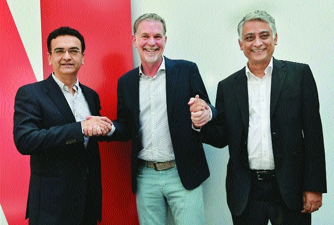 Netflix inks pact with Airtel & others; bets on local content