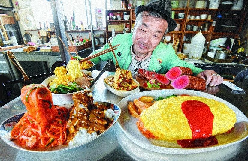 Norihito Hatanaka president of Fake Food Hatanaka