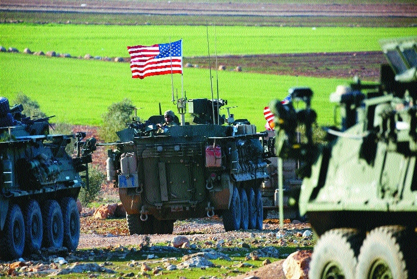US backed forces in Syria cut off key supply route to IS