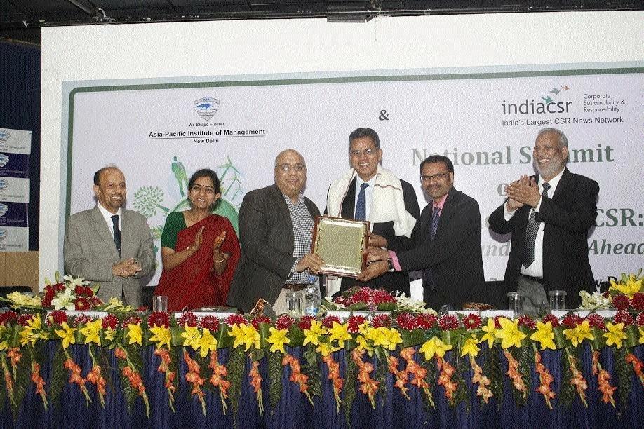IIM Raipur Director Prof B S Sahay honoured with 'India CSR Lifetime Achievement Award'