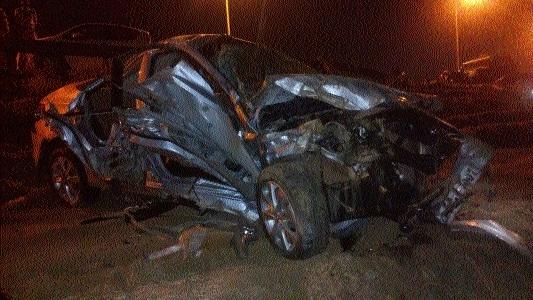 One killed three injured in road mishap