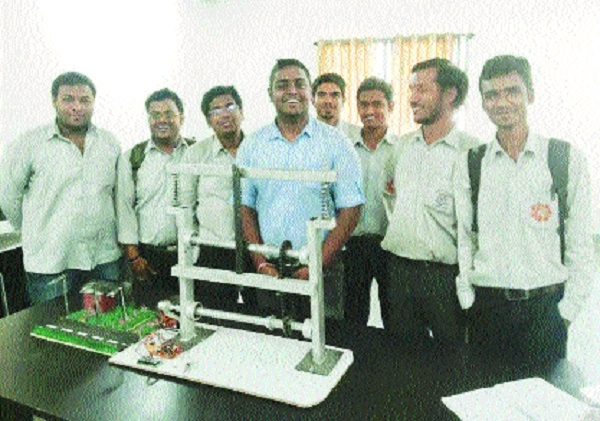 'Foot Step Power Generation System With Solar Panel' invented