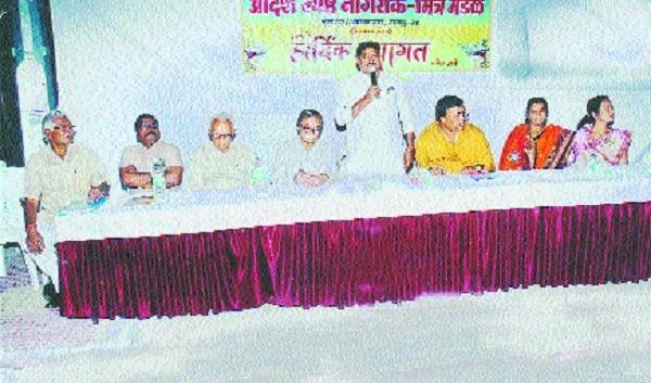 Adarsha Jyeshtha Nagarik Mandal fetes new corporators