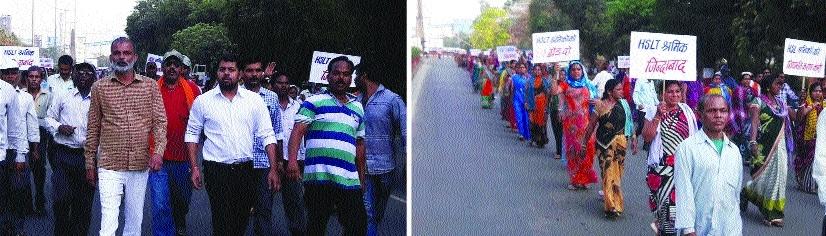 HSLT labourers press demands for DPR workers status in BSP