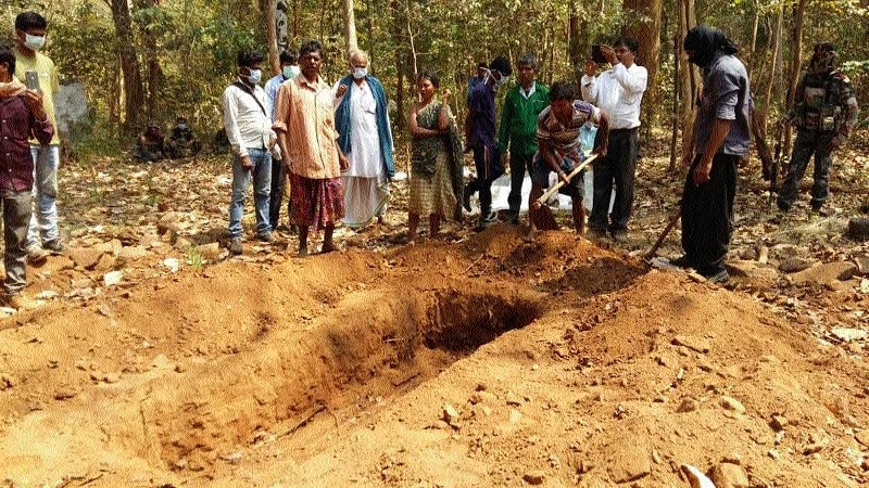 Bodies of tribal youths exhumed on orders of HC