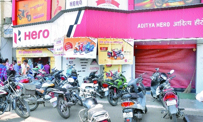 Two-wheeler dealers run out of stock