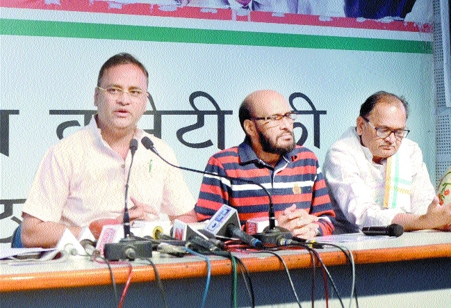 Cong demands re-poll at 41 places in Ater constituency