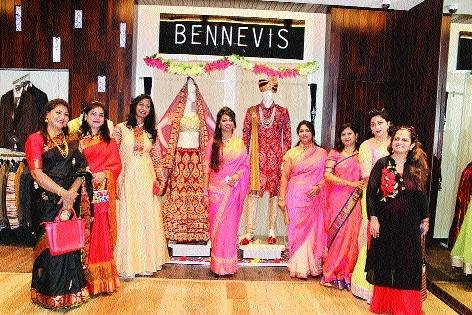 Pre-wedding collection launchedat Shree Shivam showroom