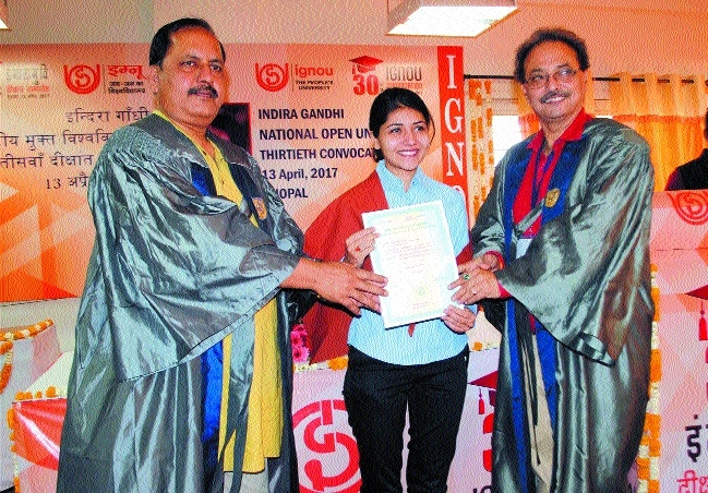 30th Convocation ceremony held at IGNOU regional centre